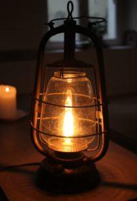 La lampe qui éclaire