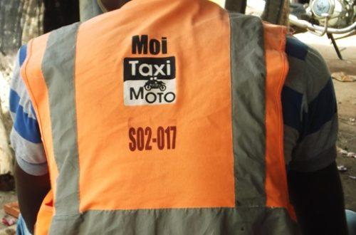 Article : En Côte d'Ivoire, les dangereuses taxis-motos de Bouaké
